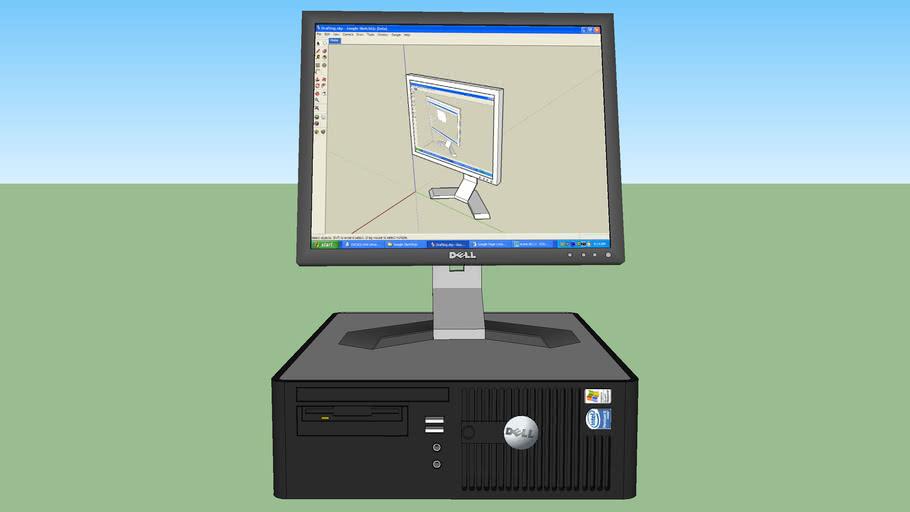 Dell Optiplex w/lcd dell