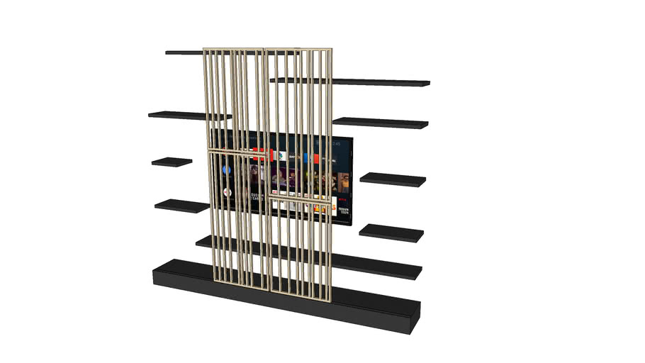 TV wall stand
