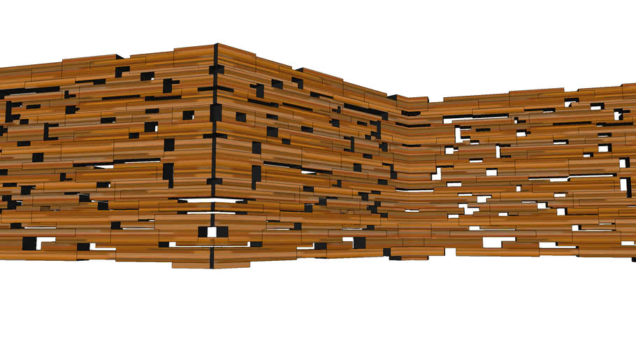 Стена из бруса Еколес Систем