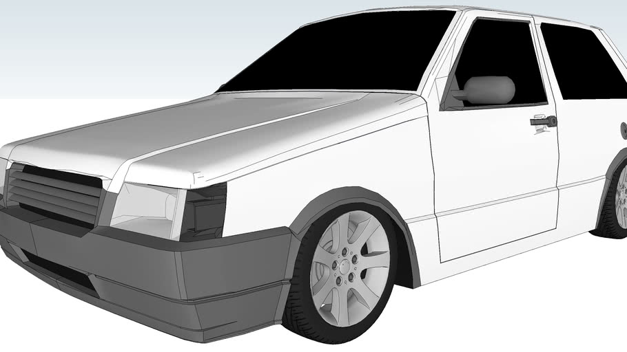 Fiat Uno 2008 2 Portas