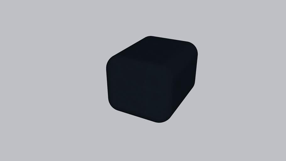 Oar R_Soft stool_Navy Blue