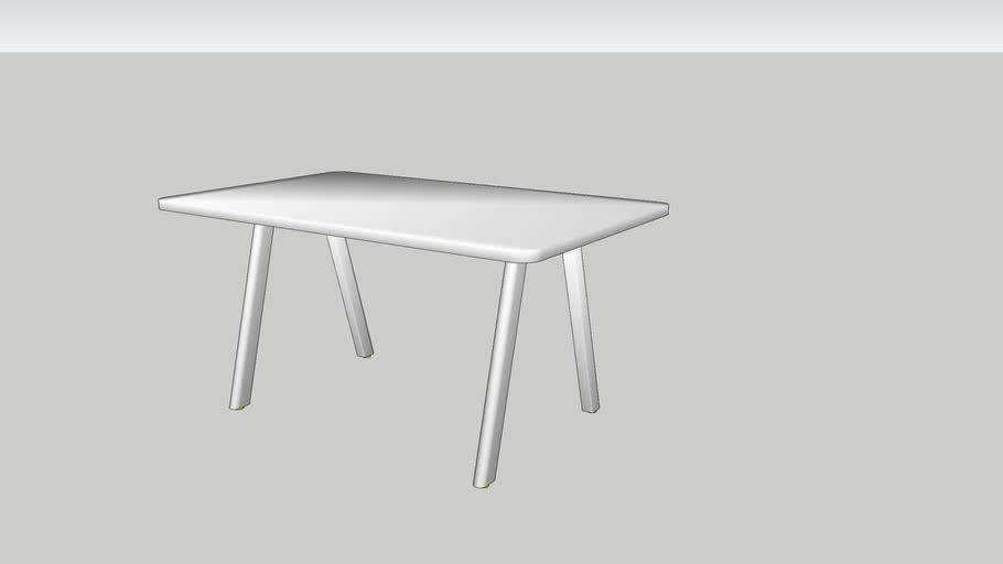 DE VORM - Big Lite Modular Table System 150x90x74