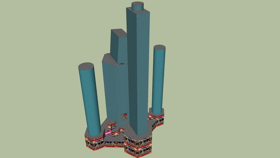 Modesto Master Towers Mall