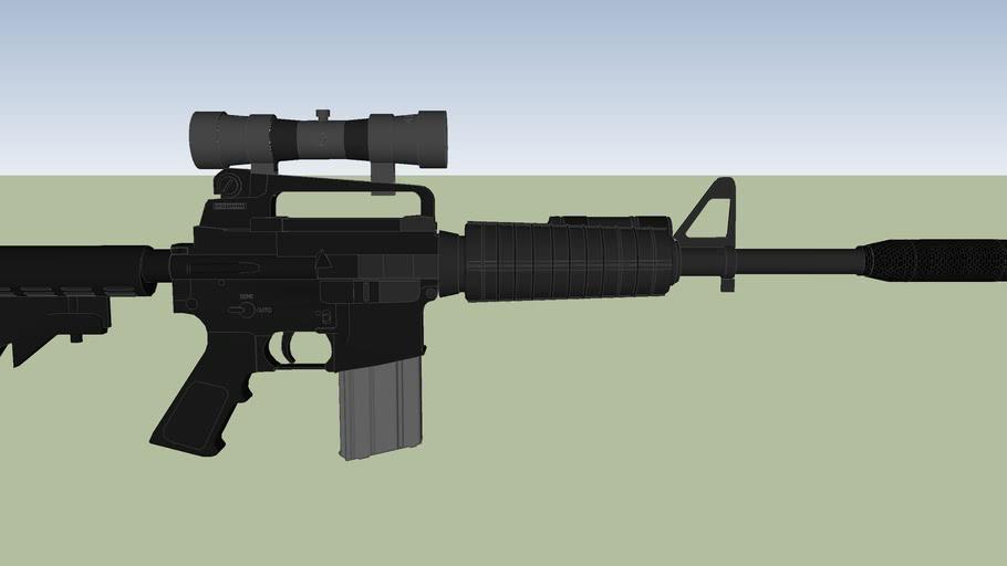 arma larga de francotirador