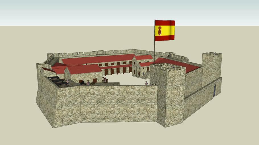 Castillo de Sohail, Fuengirola - Estado en 1785