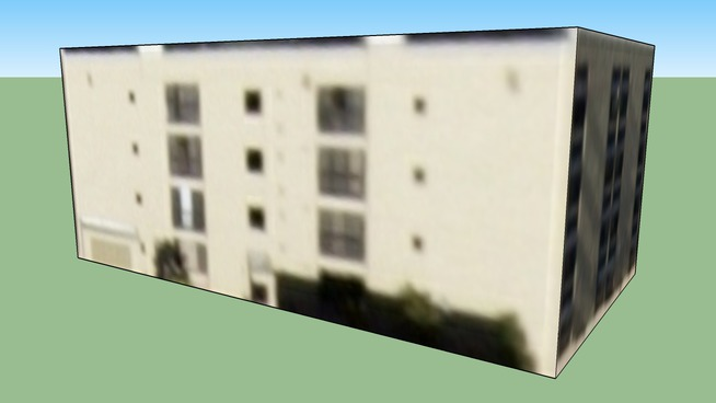 Bâtiment situé San Diego, Californie, USA