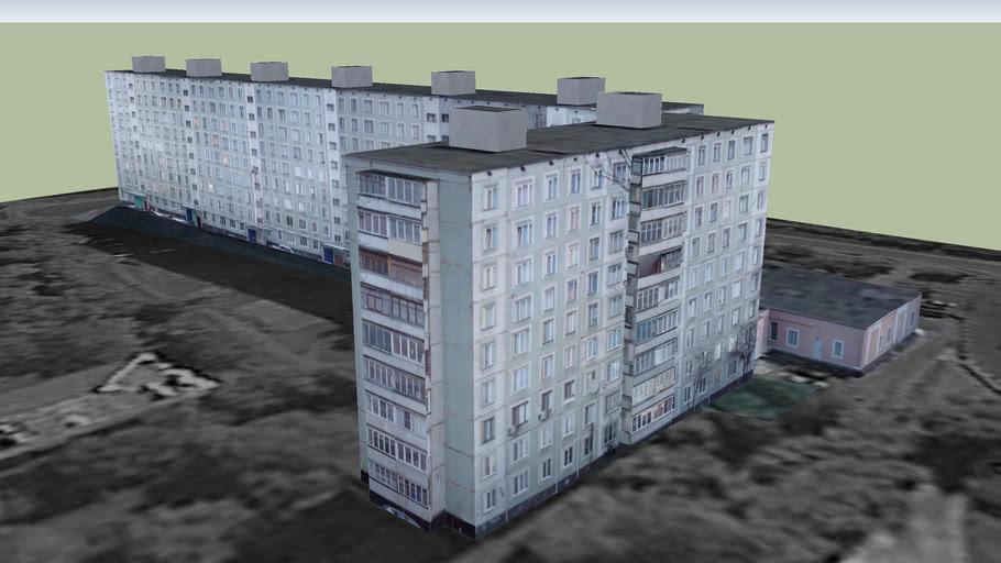 ул. Суворова, 44, 46, 42