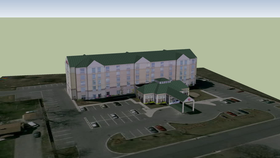 Hilton Garden Inn Cambridge Ontario 3d Warehouse