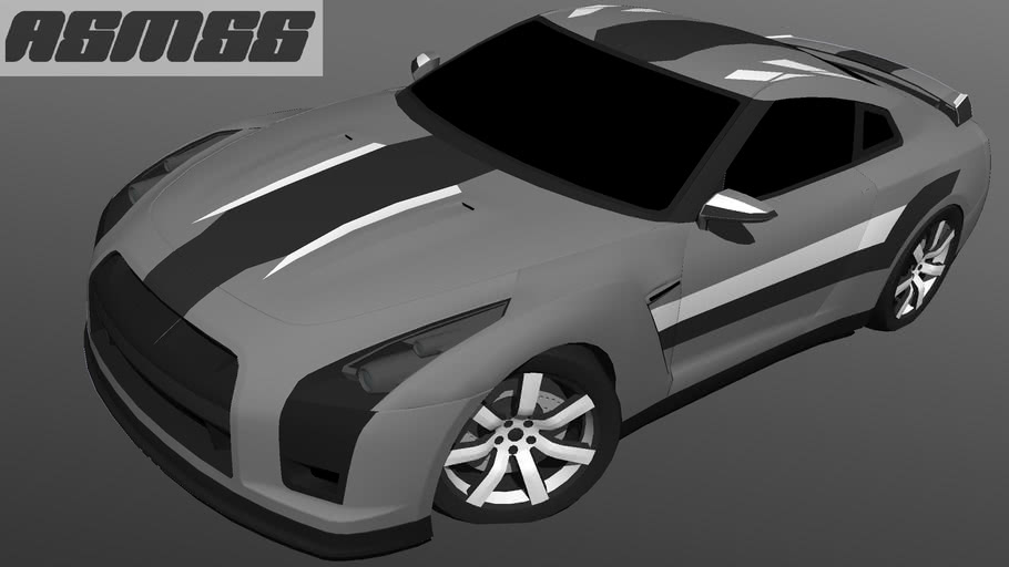 Modified Nissan GTR Proto
