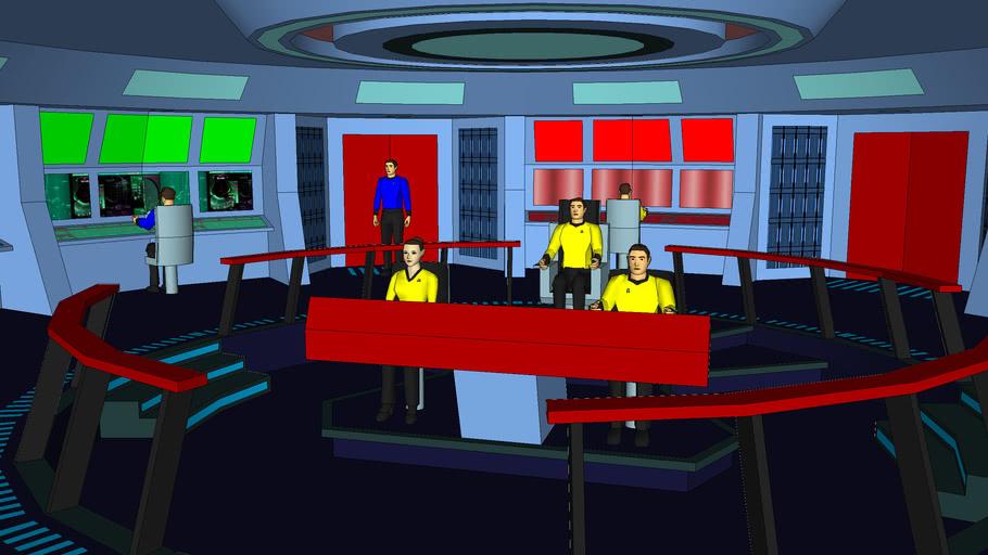 USS Enterprise bridge (Discovery)