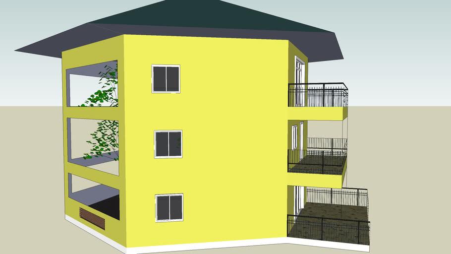 S2 - Hexagonal Solar House