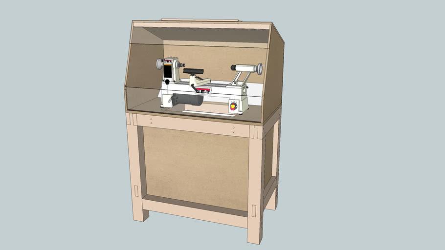 DIY bench for the Jet JML-1014I mini lathe