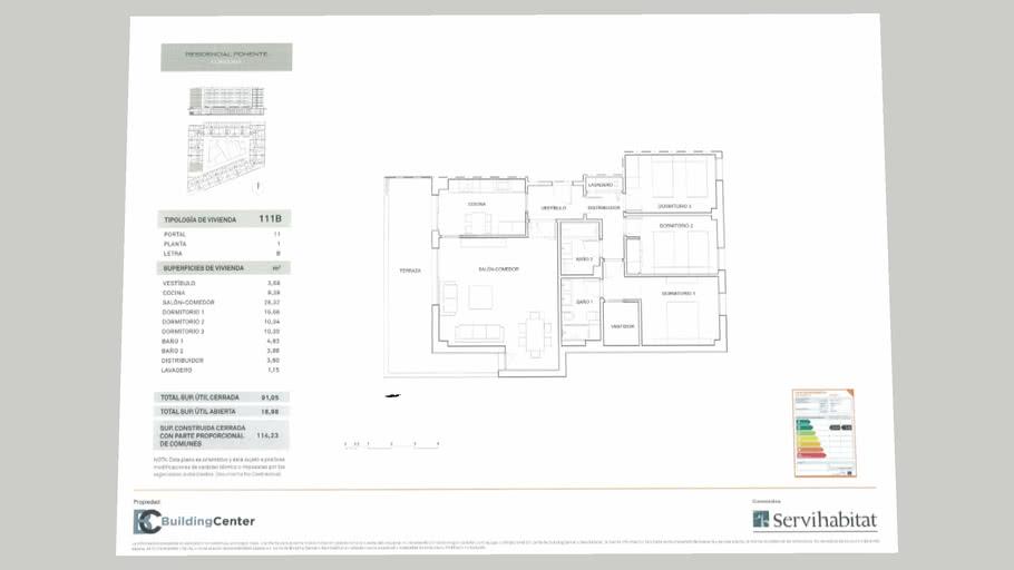 Residencial Poniente 3D