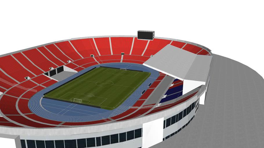 Estadio Nacional de Chile.