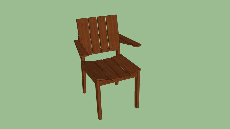 Cadeira Timbó com braços