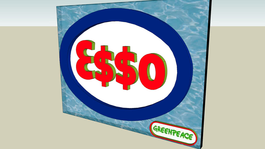 Esso greenpeace logo
