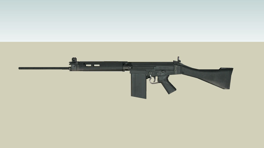 L1a1 Slr 3d Warehouse