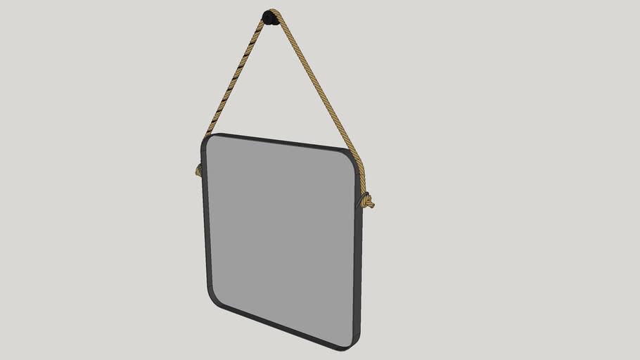 Espelho Quadrado Hanói 60cm