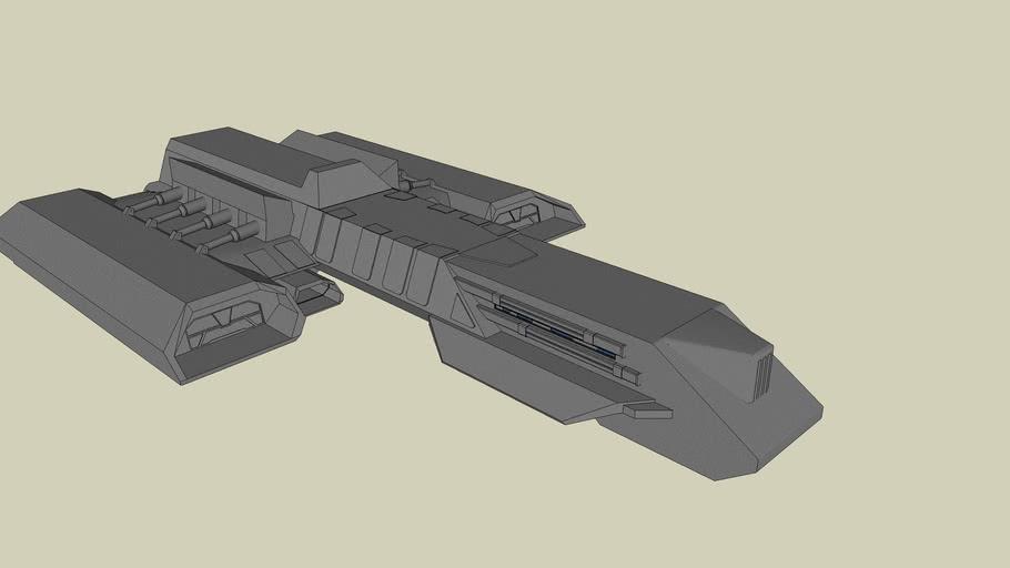 Battle Cruiser Hades (Part 1 Hull)
