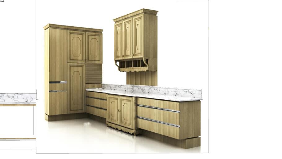 traditional / modern kitchen