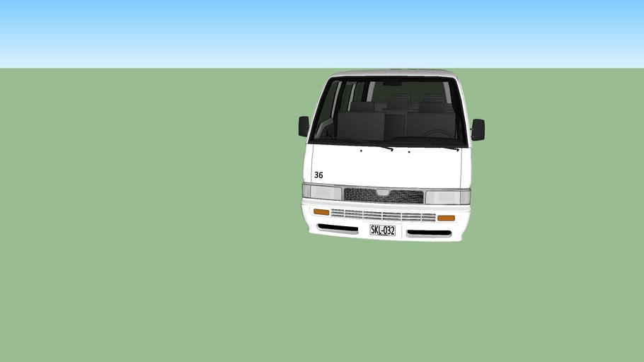 Nissan Urvan microbus escolar
