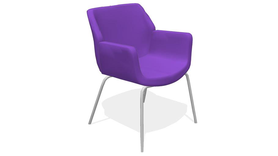 Bindu Low Back Guest / Side Chair