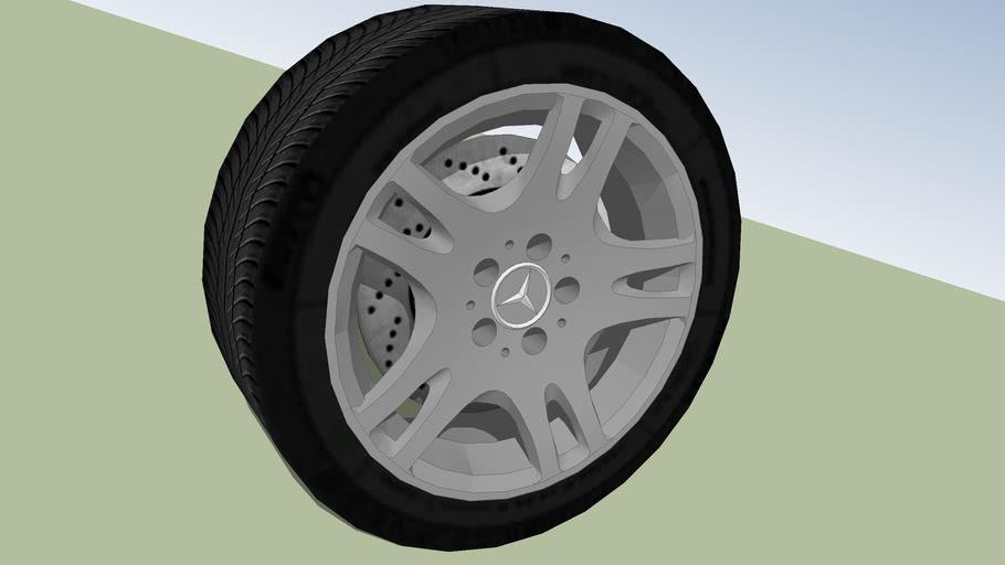 Mercedes-Benz W211 Elegance Wheel