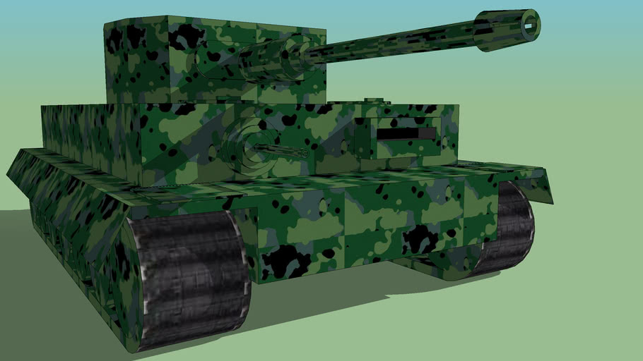 a tank a bit ike the tiger I or panzer IV