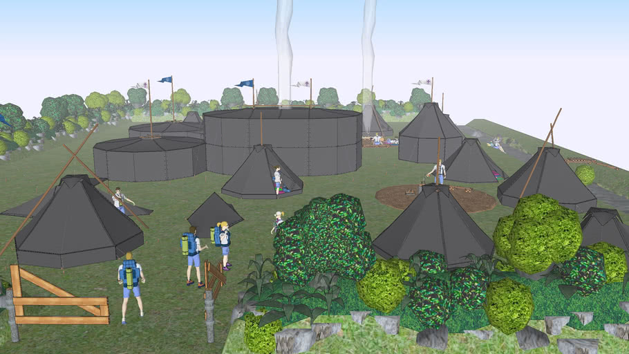 ARGO scout camp site