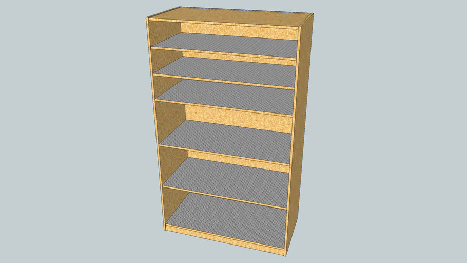 OSB Shelf Cabinet