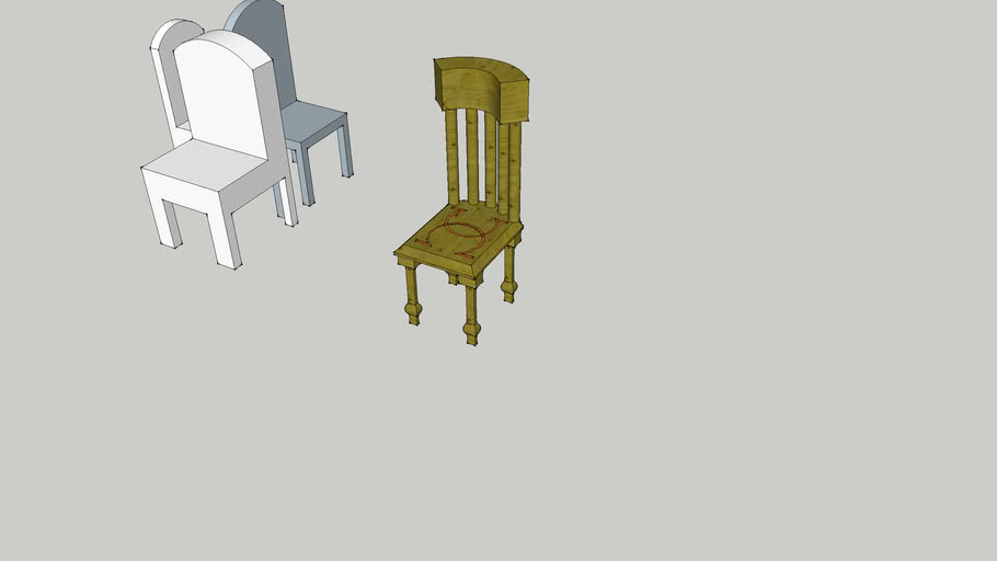 the first chairs i made
