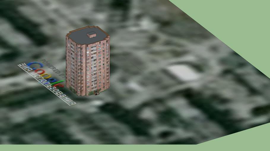 Жилой дом 14 этажка