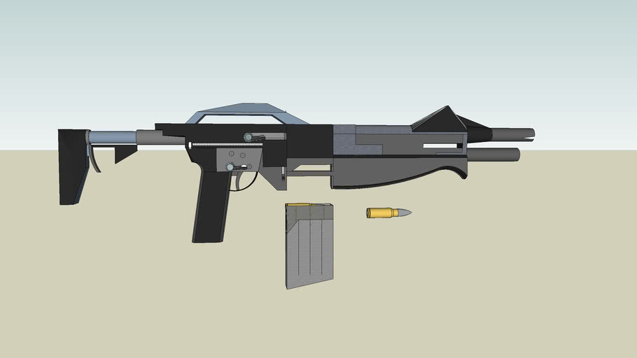 M19 Adaptive Assault weapon