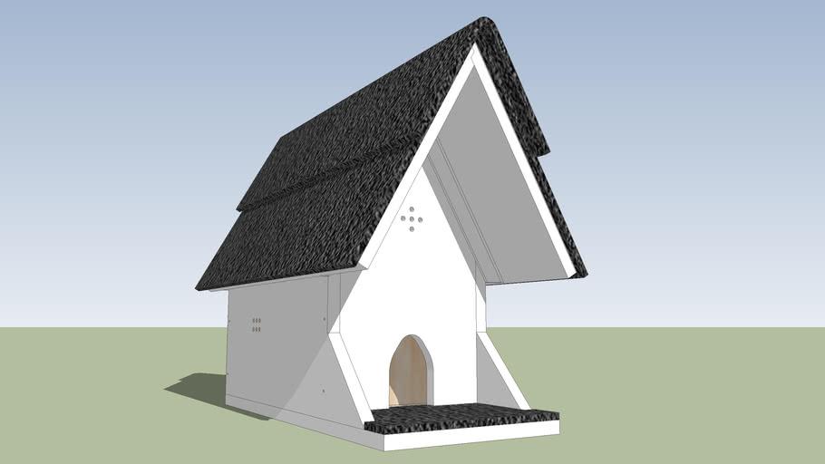Cabanne à moineaux  2 etg. / 2 flr. Bird house