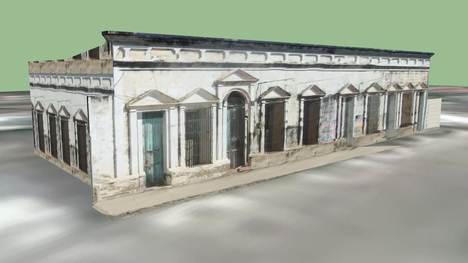 Casa colonial en Plato