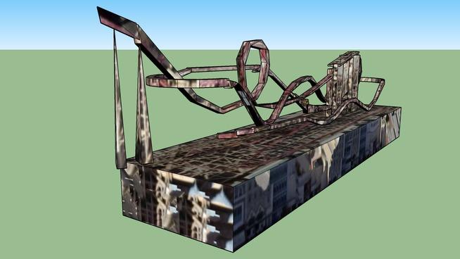 part 3 manhattan express roller coaster