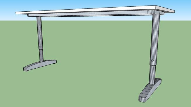 Ikea Galant Bekant Desk 180x80 white | 3D Warehouse