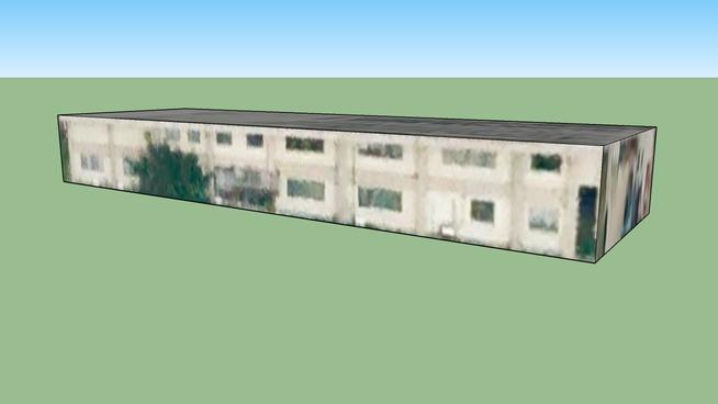 日本宫城仙台的建筑模型3