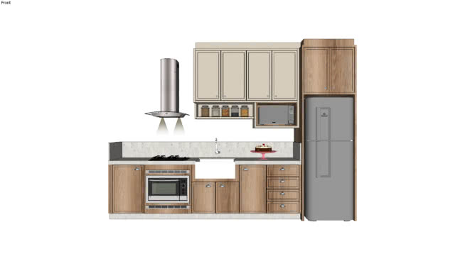 Cozinha apt sob medida