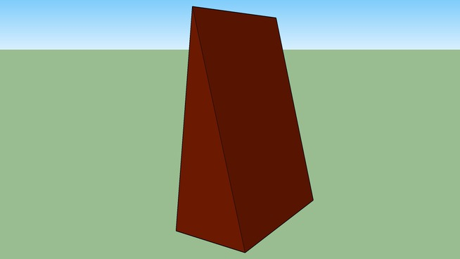 super tall super wide T-E-N-T brown  version