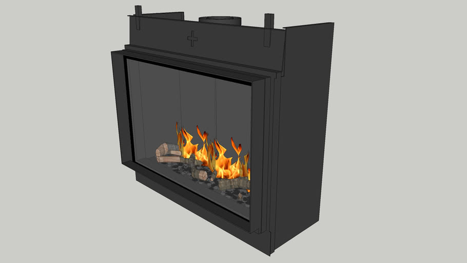 Bellfires York Large-3 hidden door+ 10 cm