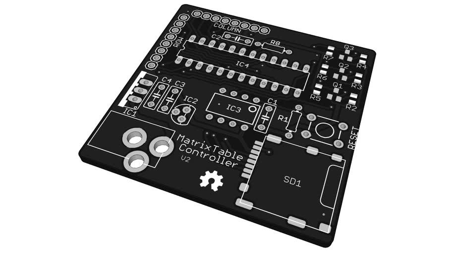 MatrixTable Controller V2 Board
