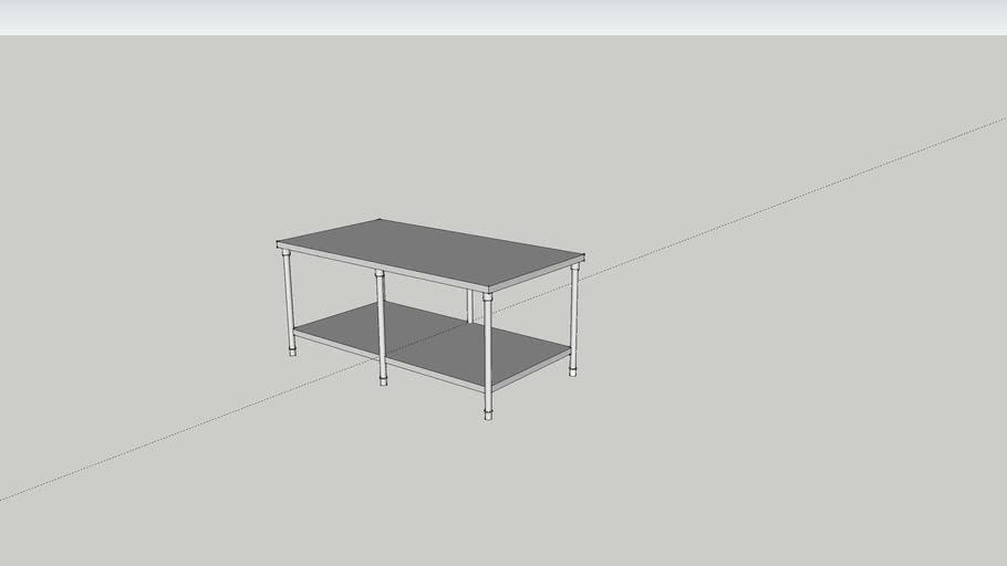 工作台/下層板 (六隻腳)