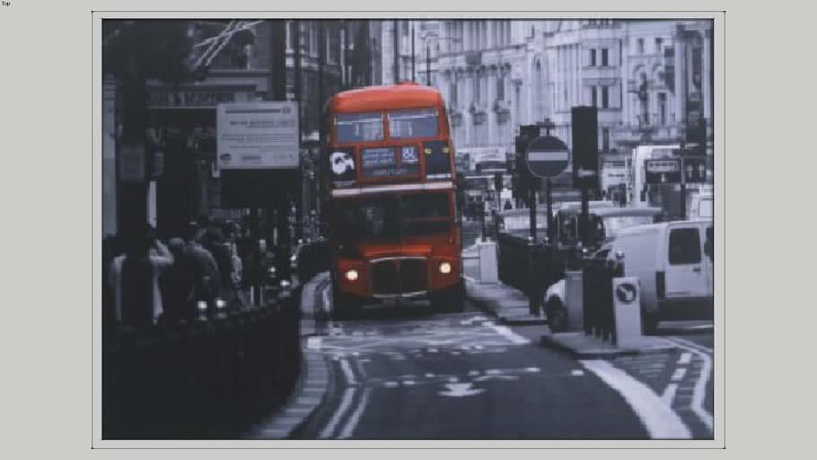 ikea VILSHULT picture london bus