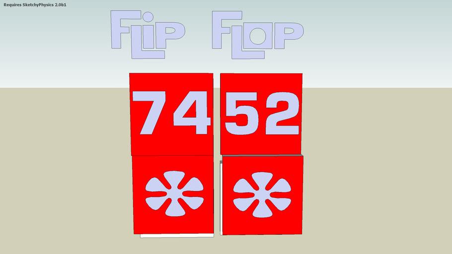 sketchyphysics tpir flip flop thing
