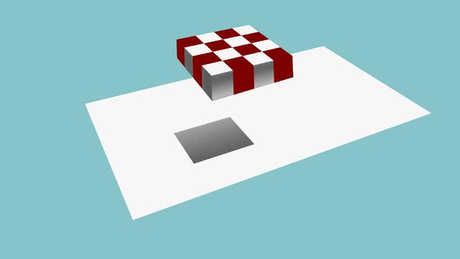 Chess optical illusion