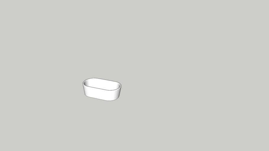 rwallace modern oval tub