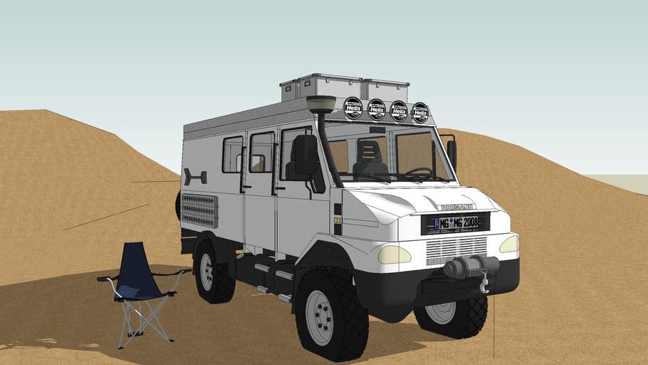 BREMACH 4x4 EXTREME 35 Kastenwagen
