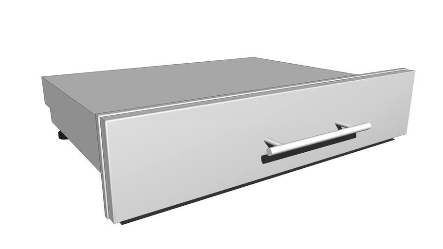 "30""W x 6-1/2""H Multi-Configurable Drawer w/Self-Leveling Legs ~ Item No. DE-SD30"