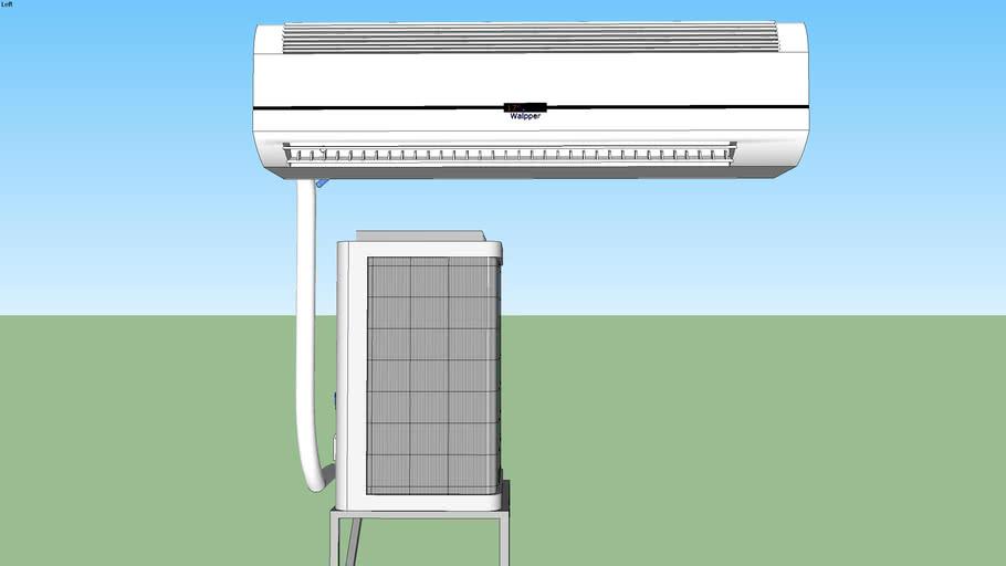 Ar condicionado Split Inverter instalado - 30000 btu'a